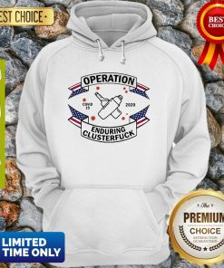 Bartender Operation Enduring Clusterfuck COVID-19 2020 Hoodie