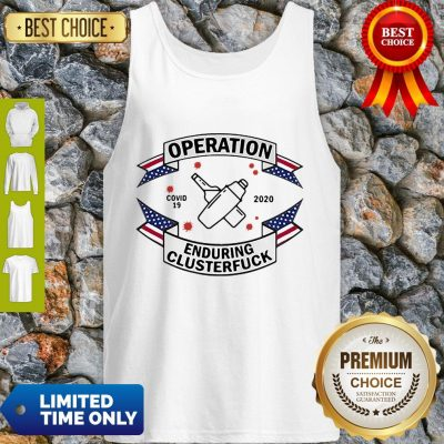 Bartender Operation Enduring Clusterfuck COVID-19 2020 Tank Top