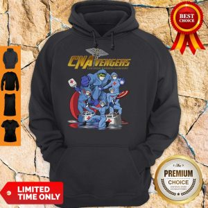 CNA Vengers Certified Nursing Assistant COVID-19 Hoodie