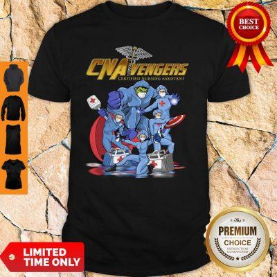 CNA Vengers Certified Nursing Assistant COVID-19 Shirt