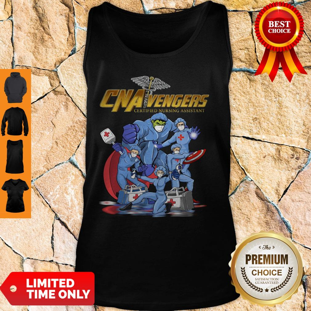 CNA Vengers Certified Nursing Assistant COVID-19 Tank Top
