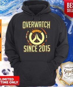 Pretty Overwatch Since 2015 Hoodie