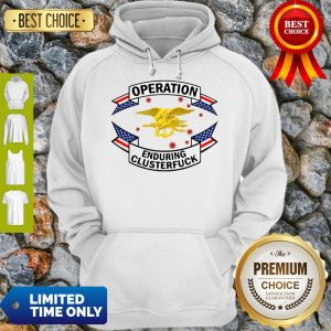 Pretty Magnet Us Navy Seal Operation Covid-19 2020 Enduring Clusterfuck Hoodie