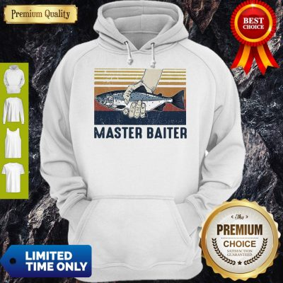 Pretty Vintage Master Baiter Fish Hoodie