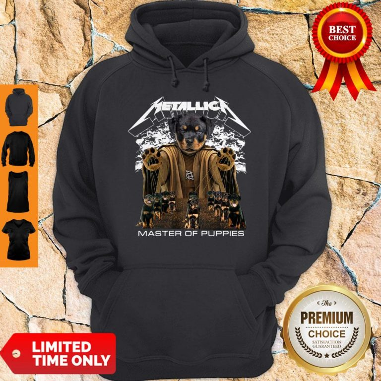 Top Metallica Austrian Black Master Of Puppies Hoodie