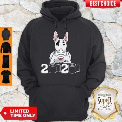 Official Bull Terrier Mask 2020 Toilet Paper Hoodie