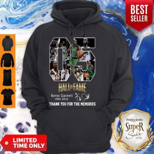 05 Hall Of Fame Kevin Garnett 1995-2016 Signature Hoodie