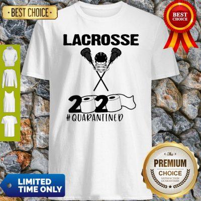Lacrosse 2020 Face Mask #Quarantined COVID-19 Shirt