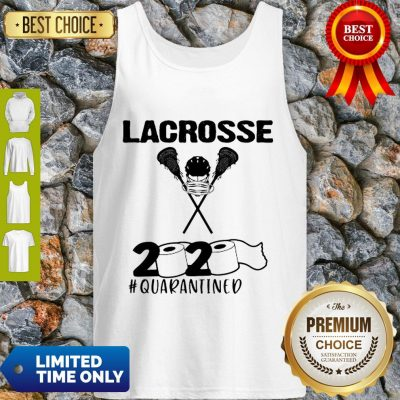 Lacrosse 2020 Face Mask #Quarantined COVID-19 Tank Top