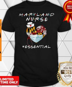 Maryland Nurse Heart Stethoscope #Esential Shirt