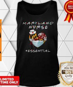 Maryland Nurse Heart Stethoscope #Esential Tank Top