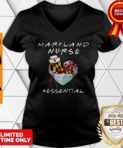 Maryland Nurse Heart Stethoscope #Esential V-neck