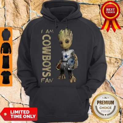 Official Baby Groot I Am Dallas Cowboys Hoodie