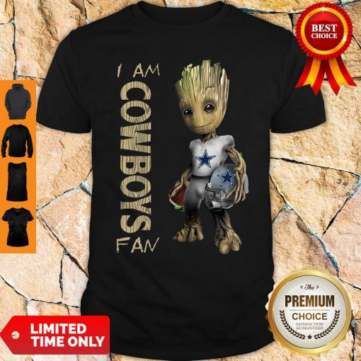 Official Baby Groot I Am Dallas Cowboys Shirt