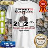 Nice Dwight' 20 Schrute 2020 The Year When Shit Got Real #Quatantined Shirt