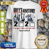 Official Grey's Anatomy 2020 The Year When Shit Got Real #Quatantined Shirt