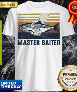 Pretty Vintage Master Baiter Fish Shirt