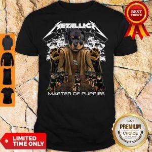 Top Metallica Austrian Black Master Of Puppies Shirt