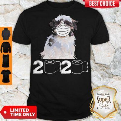 Good Shih Tzu Mask 2020 Toilet Paper Shirt