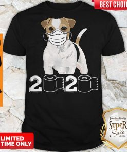 Premium Jack Russell Mask 2020 Toilet Paper Shirt