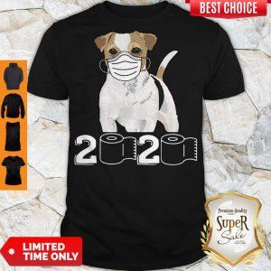 Premium Jack Russell Mask 2020 Toilet Paper Shirt