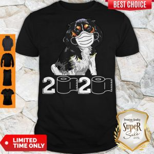 Pretty Cavalier King Mask 2020 Toilet Paper Shirt