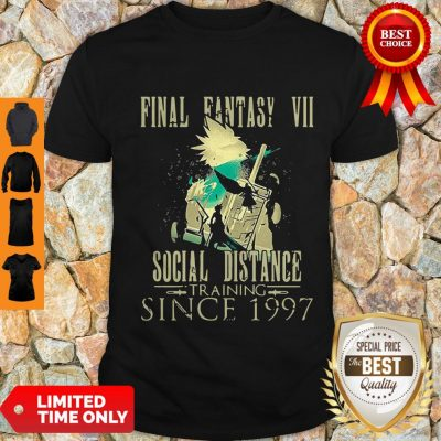 Top Final Lovers Fantasy Video Game VII Social Distance Training Since 1997 Quarantine Shirt
