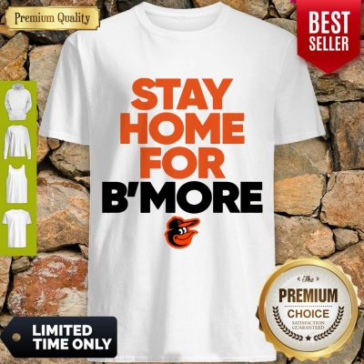 Pretty Stay Home For Baltimore Orioles Shirt