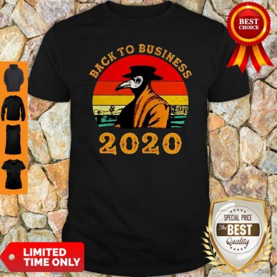 Plague Doctor Back To Business 2020 Vintage Shirt