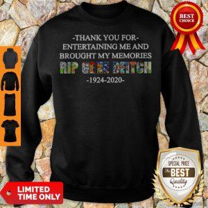 Top Rip Gene Deitch Thank You For Entertaining Me 1924 2020 Sweatshirt
