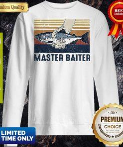 Pretty Vintage Master Baiter Fish Sweatshirt