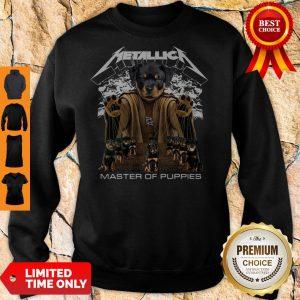 Top Metallica Austrian Black Master Of Puppies Sweatshirt