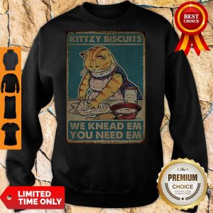 Official Funny Cat Kitty Biscuits Sweatshirt