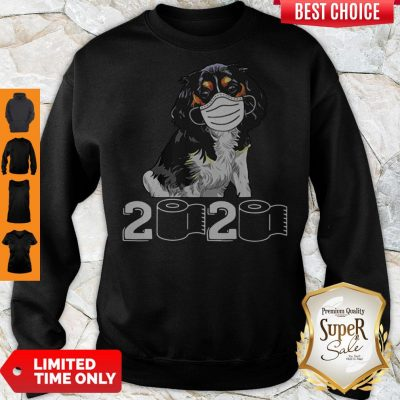 Pretty Cavalier King Mask 2020 Toilet Paper Sweatshirt