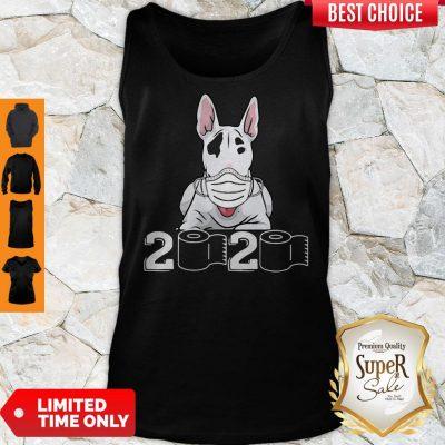 Official Bull Terrier Mask 2020 Toilet Paper Tank Top