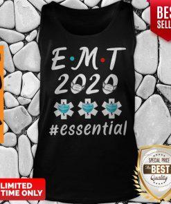 EMT 2020 Essential Quarantine Coronavirus Tank Top