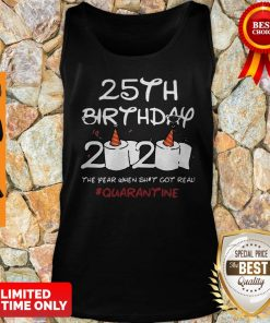 Premium 35th Birthday 2020 Quarantine Tank Top