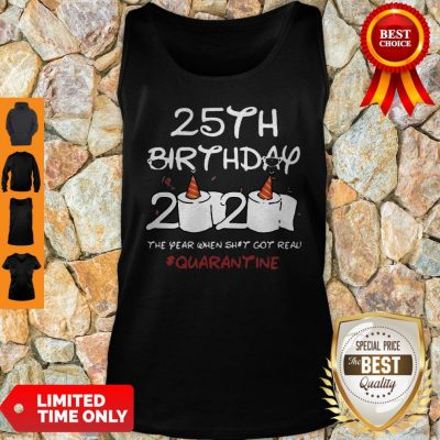 Premium 35th Birthday 2020 Quarantine Tank Top