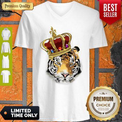 Premium King Tiger Kinder V-neck