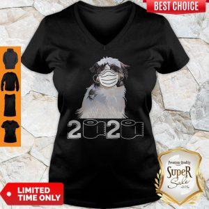 Good Shih Tzu Mask 2020 Toilet Paper V-neck