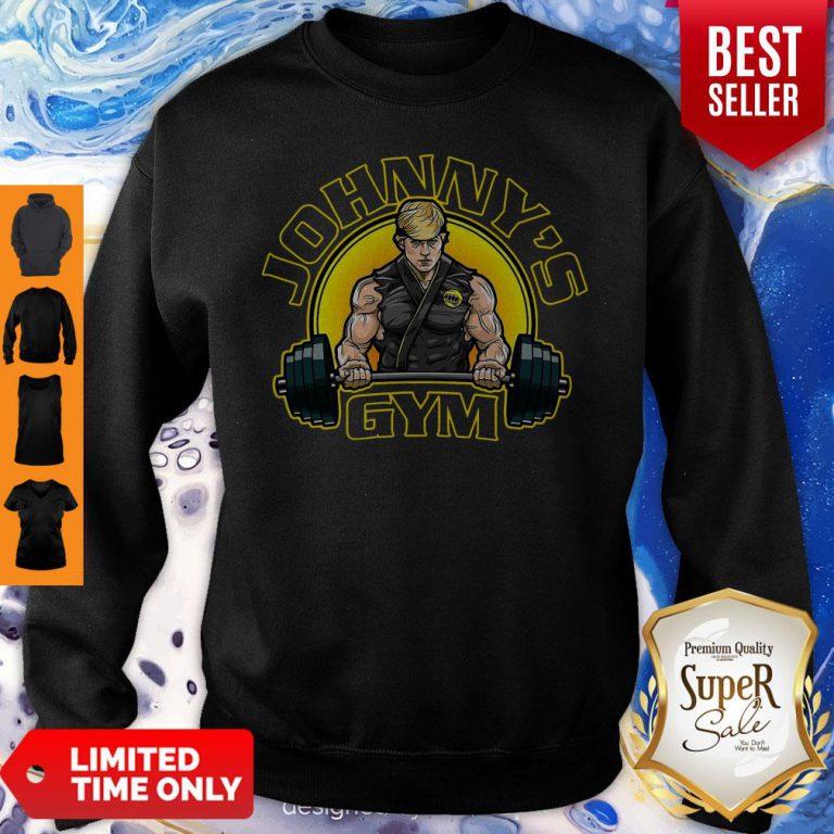 Official Adorable Pretty Man Johnnys Gym Sweatshirt