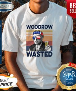 Beautiful American Flag Woodrow Wasted Shirt
