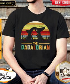 Cute The Dadalorian Vintage Shirt