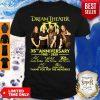 Dream Theater Progressive Metal Band 35th Anniversary 1985-2020 Member Signature Shirt