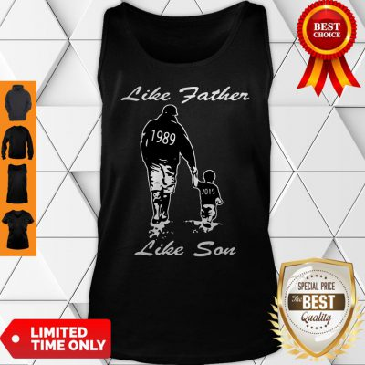 Happy Like Father Like Son New York Yankees Funny Tank Top