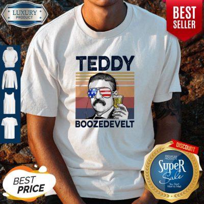 Hot American Flag Teddy Boozedevelt Shirt