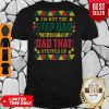 I'm not the step Dad I'm just the dad that stepped up Black Father shirt