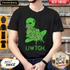 Nice Take Me To Your Weed Dealer Funny Alien Cannabis UFO IJWTGH Shirt
