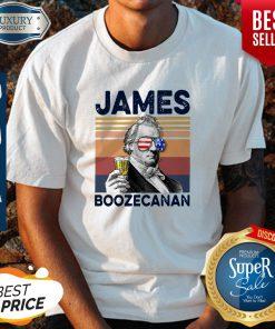 Official American Flag James Boozecanan Shirt