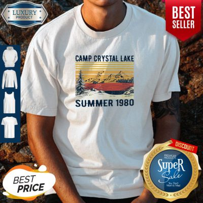 Pro Camp Crystal Lake Summer 1980 Vintage Shirt